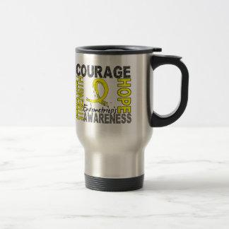 Strength Courage Hope Endometriosis Travel Mug