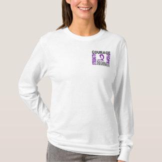 Strength Courage Hope Epilepsy T-Shirt