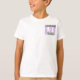 Strength Courage Hope Hodgkin's Lymphoma T-Shirt