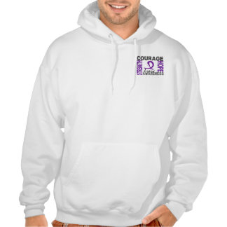 Strength Courage Hope Lupus Sweatshirts