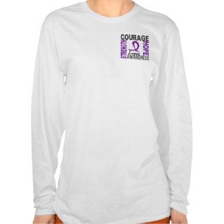 Strength Courage Hope Lupus Tee Shirt