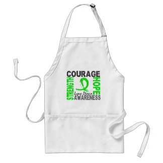 Strength Courage Hope Lyme Disease Adult Apron