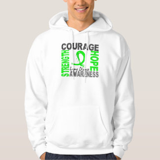 Strength Courage Hope Lyme Disease Hooded Pullovers