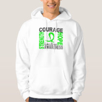 Strength Courage Hope Lyme Disease Hoodie