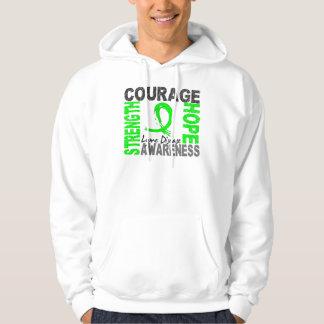 Strength Courage Hope Lyme Disease Hoodie