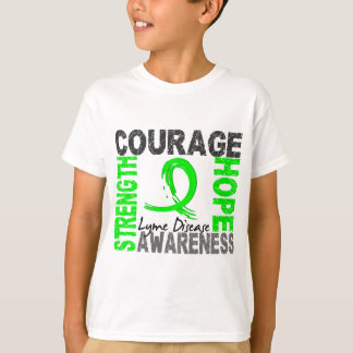 Strength Courage Hope Lyme Disease T-Shirt