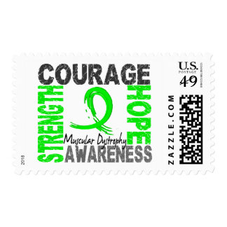 Strength Courage Hope Muscular Dystrophy Stamps