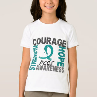 Strength Courage Hope PCOS T-Shirt