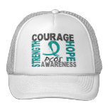 Strength Courage Hope PCOS Trucker Hat