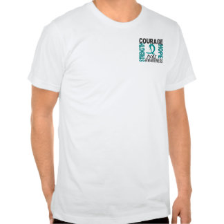 Strength Courage Hope PCOS Shirts