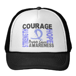 Strength Courage Hope Prostate Cancer Trucker Hat