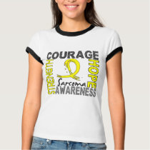 Strength Courage Hope Sarcoma T-Shirt