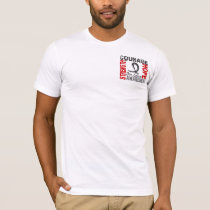 Strength Courage Hope Skin Cancer T-Shirt