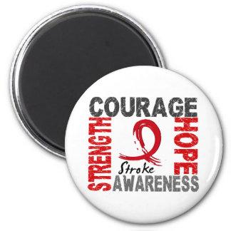 Strength Courage Hope Stroke Magnet