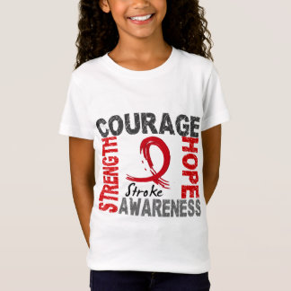 Strength Courage Hope Stroke T-Shirt