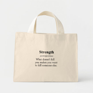 Strength Definition Bag