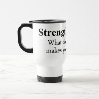 Strength Definition 15 Oz Stainless Steel Travel Mug