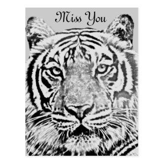 Strength_ del tigre postales