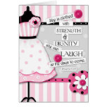 Strength & Dignity Scripture Encouragement Card