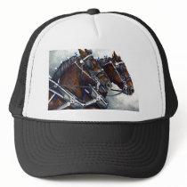 Strength & Glory  - Percheron Horses Trucker Hat
