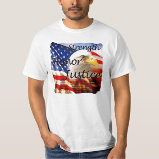 Strength Honor Justice T-Shirt