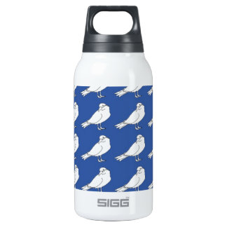 Strength In Blue Numbers Insulated Water Bottle