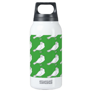 Strength In Green Numbers Insulated Water Bottle