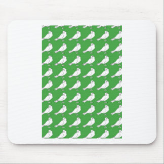 Strength In Green Numbers Mouse Pad