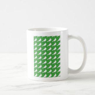 Strength In Green Numbers Basic White Mug