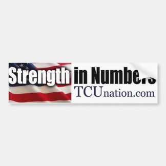 Strength in Numbers Bumper Stickers