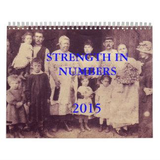Strength In Numbers Calendar