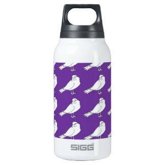 Strength In Purple Numbers Insulated Water Bottle