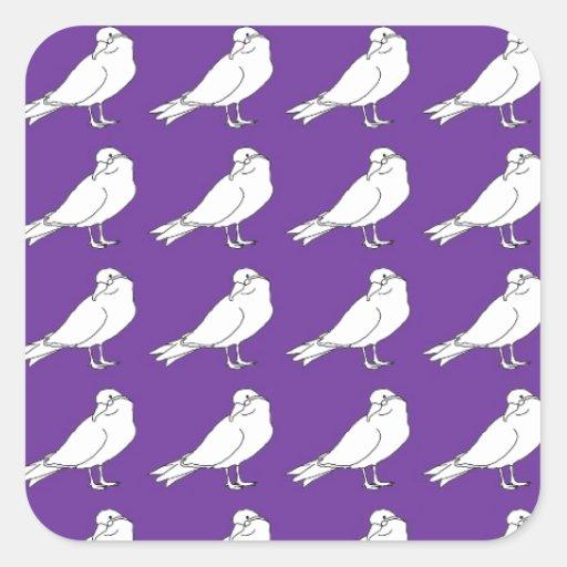 Strength In Purple Numbers Sticker