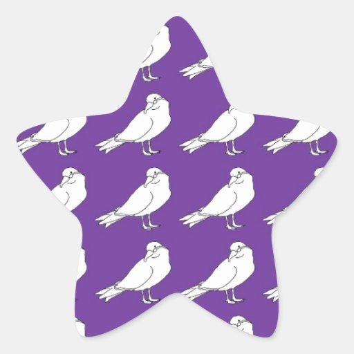 Strength In Purple Numbers Star Sticker