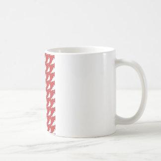Strength In Red Numbers Coffee Mug