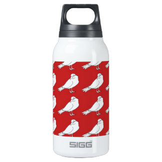Strength In Red Numbers Insulated Water Bottle