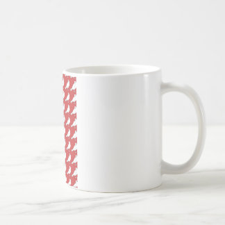 Strength In Red Numbers Basic White Mug