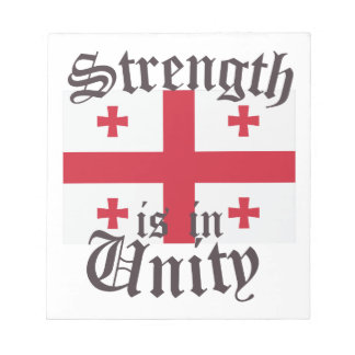 Strength In Unity Notepad