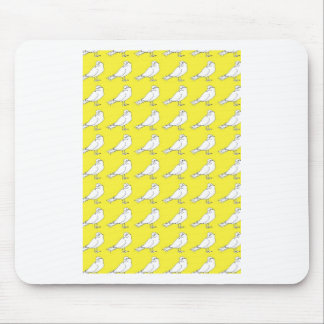 Strength In Yellow Numbers Mouse Pad