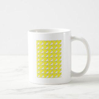 Strength In Yellow Numbers Basic White Mug