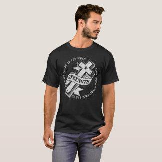 Strength - Isaiah 40:29  Dark T-Shirt
