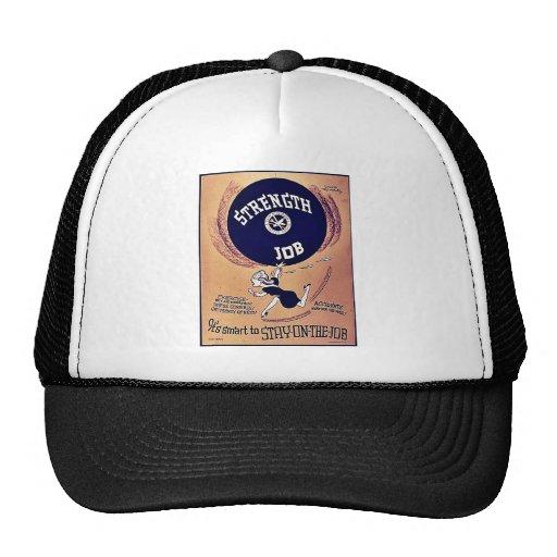 Strength Job Trucker Hat