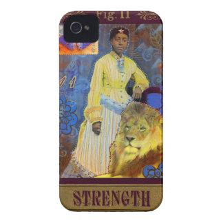 Strength - Les Vieux Jours Tarot Phone Case