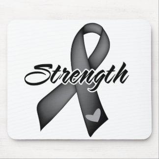 Strength - Melanoma Mousepads