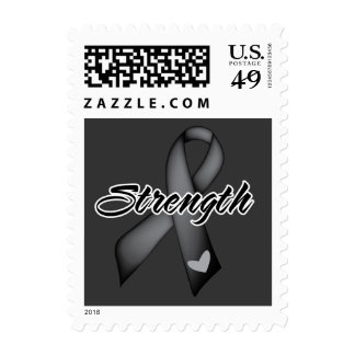 Strength - Melanoma Postage Stamps