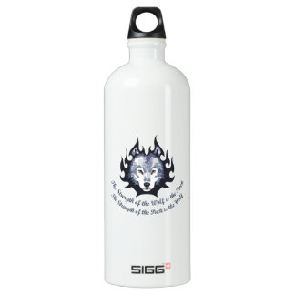 STRENGTH OF THE WOLF SIGG TRAVELER 1.0L WATER BOTTLE