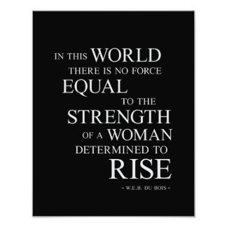 Strength Of Woman Inspirational Motivational Quote Photo Print