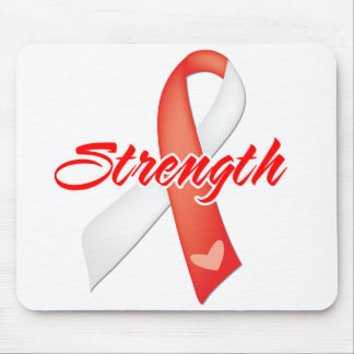 Strength - Oral Cancer Mouse Pad