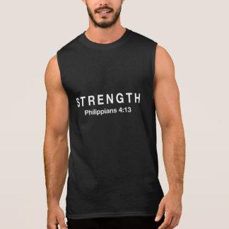 Strength Philippians 4:13 Sleeveless Shirt