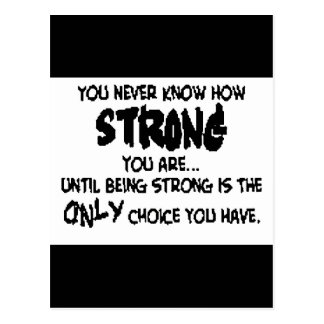 Strength Postcard